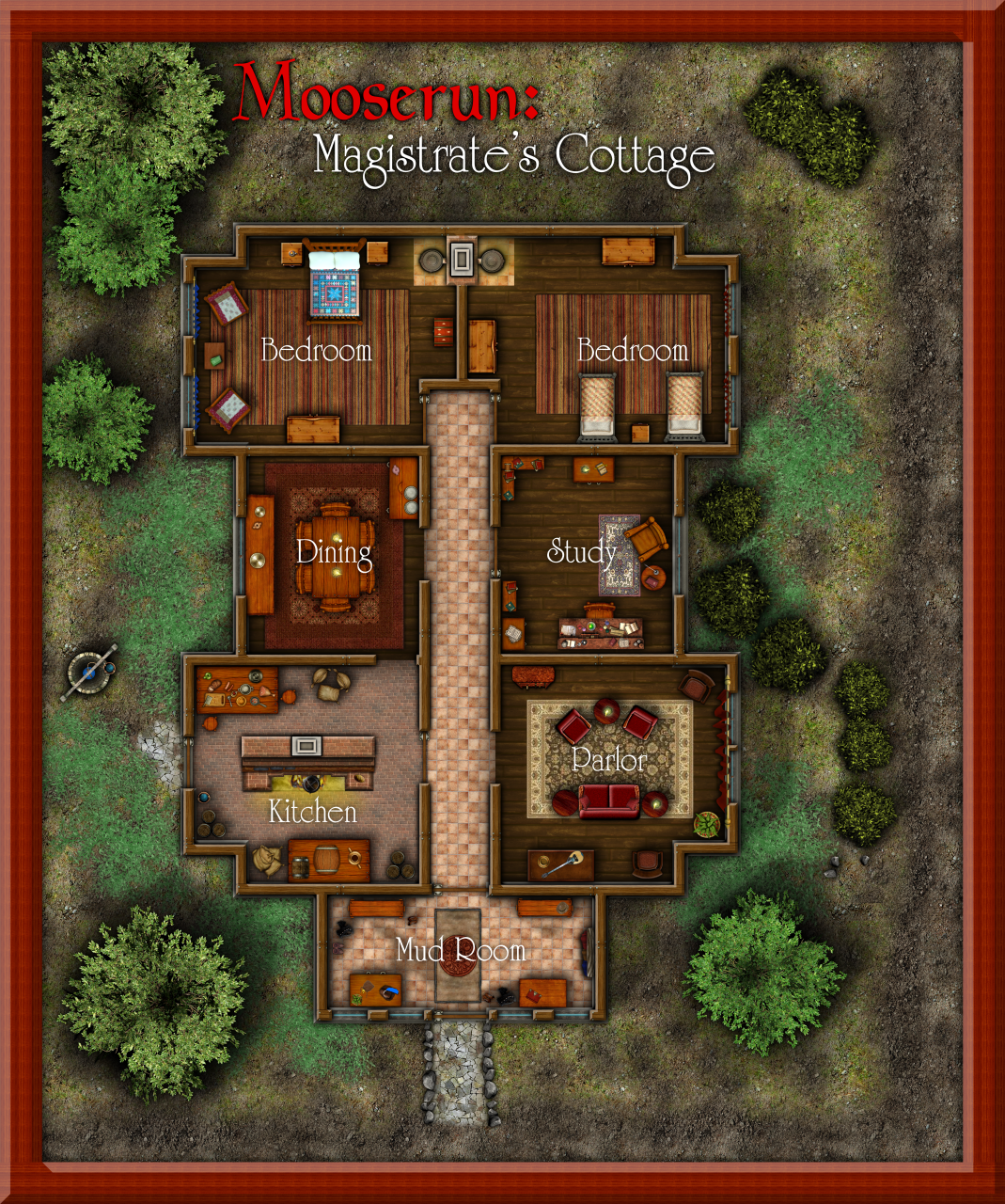 Nibirum Map: magistrates cottage by Shessar