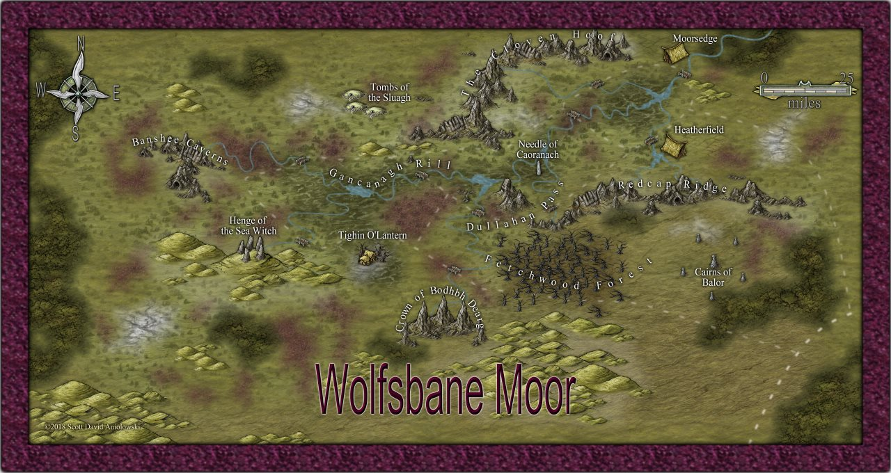Nibirum Map: wolfsbane moor by ScottA