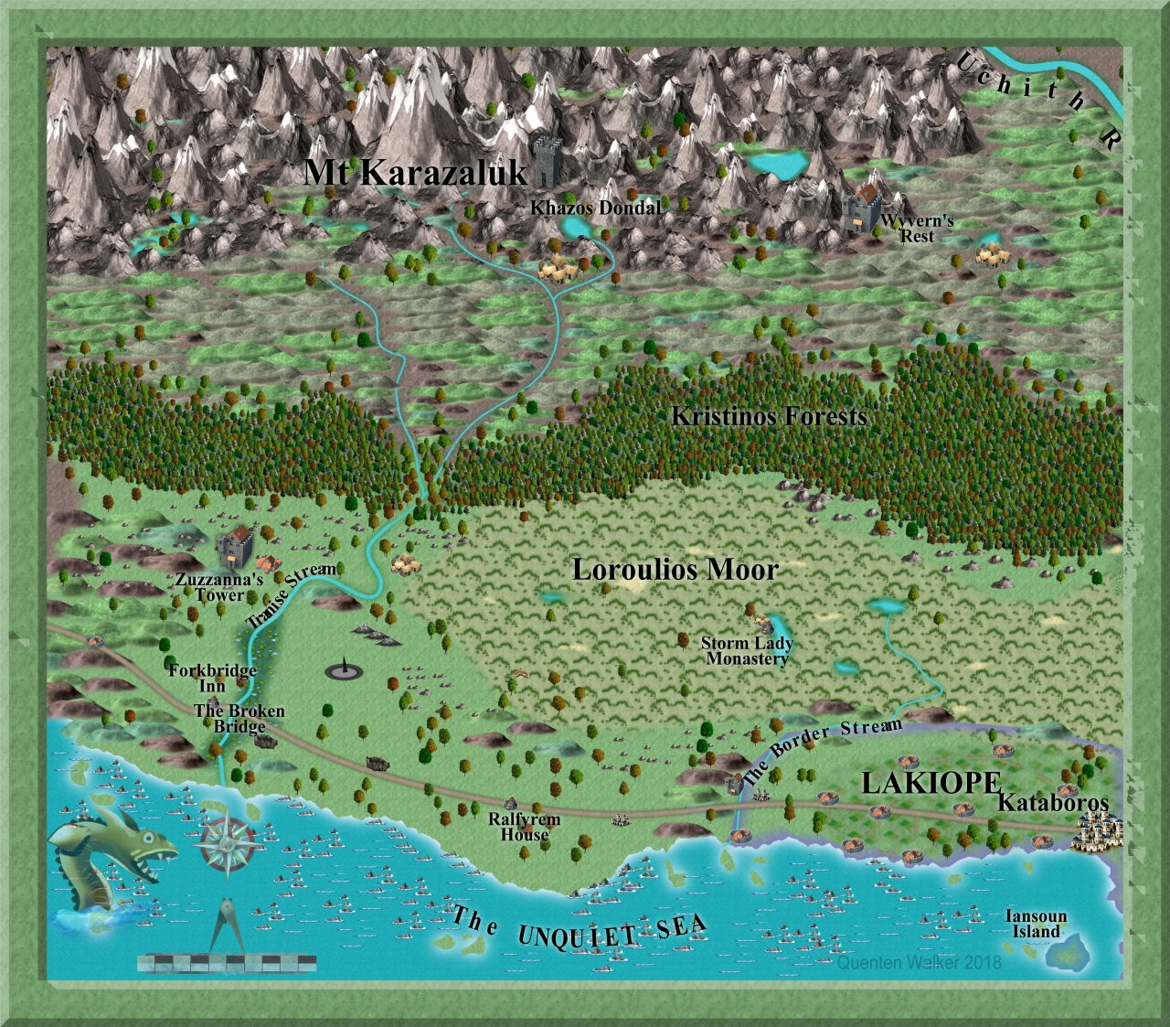 Nibirum Map: Mt Karazaluk - ss1 b by Quenten Walker