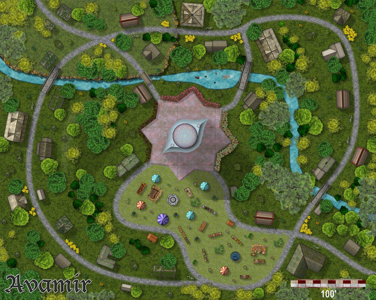 Nibirum Map: avamir by Monsen
