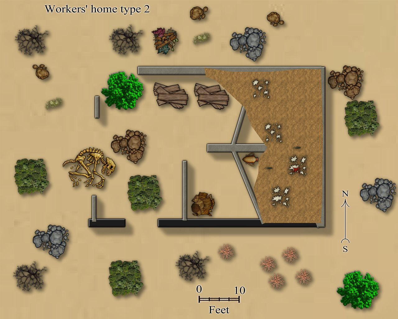 Nibirum Map: daefadel fort worker home 2 by JimP
