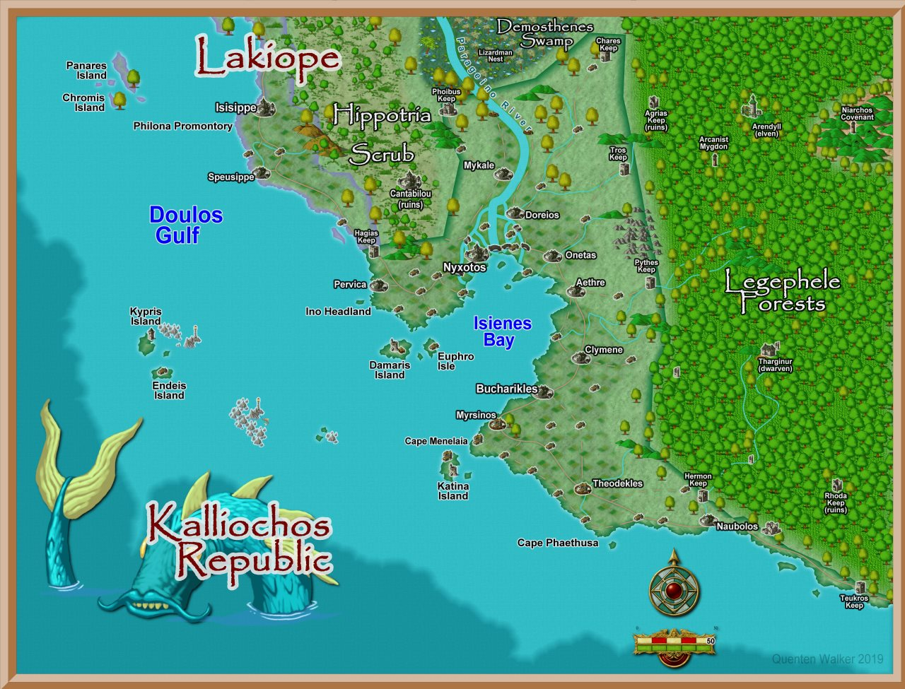Nibirum Map: kalliochos - cc3 standard by Quenten Walker