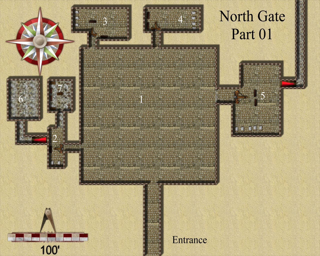 Nibirum Map: north gate 1 by JimP