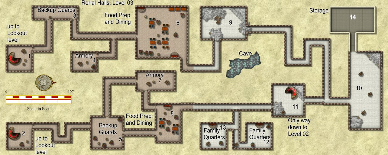 Nibirum Map: rorial halls 3 by JimP