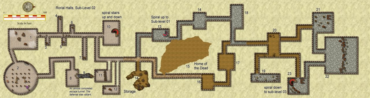 Nibirum Map: rorial halls s2 by JimP