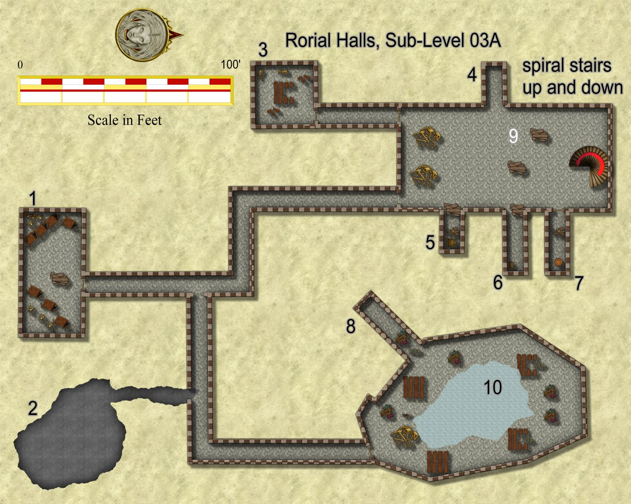 Nibirum Map: rorial halls s3a by JimP