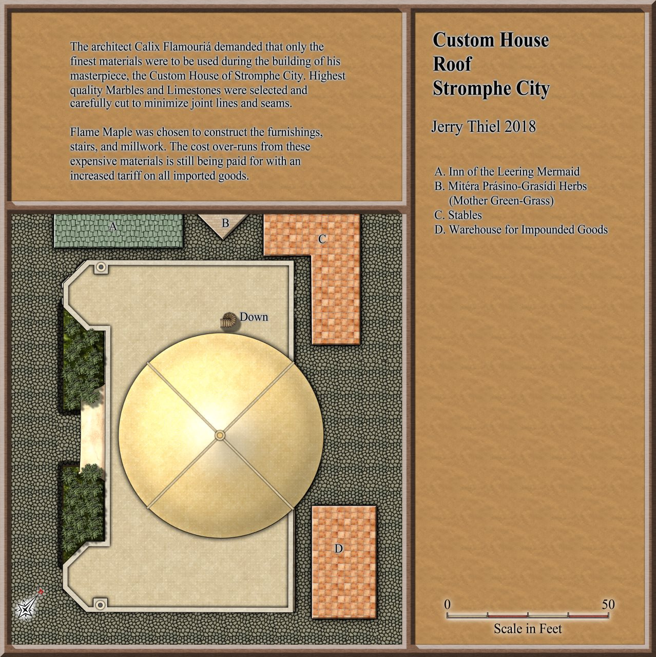 Nibirum Map: stromphe custom house roof by Jerry Thiel