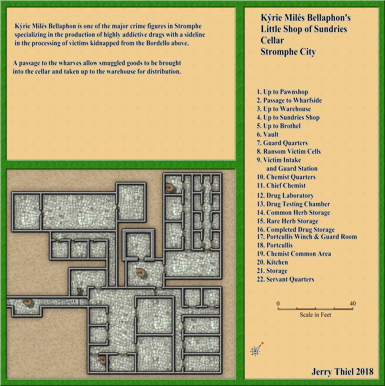 Nibirum Map: sundries cellar by Jerry Thiel