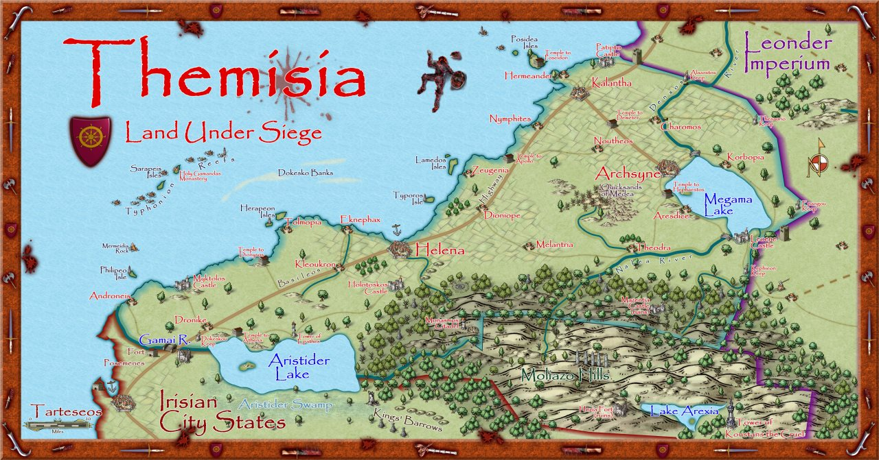 Nibirum Map: themisia by Quenten Walker