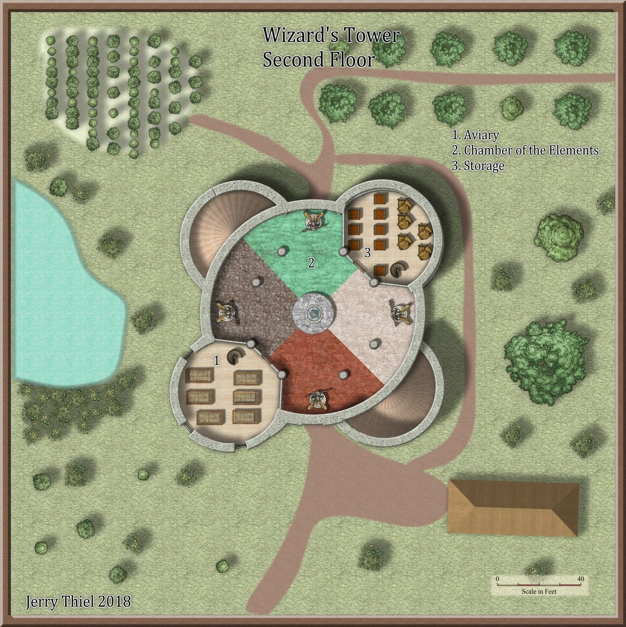 Nibirum Map: wizards tower 2 by Jerry Thiel