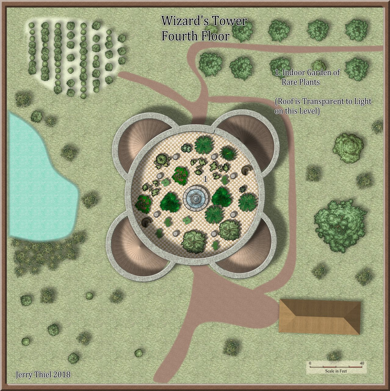 Nibirum Map: wizards tower 4 by Jerry Thiel
