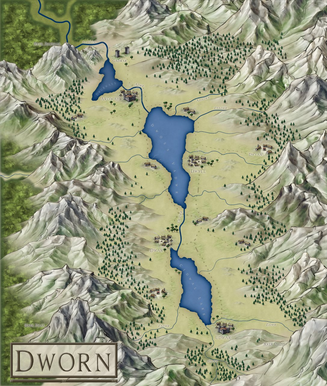 Nibirum Map: Dworn by HadrianVI