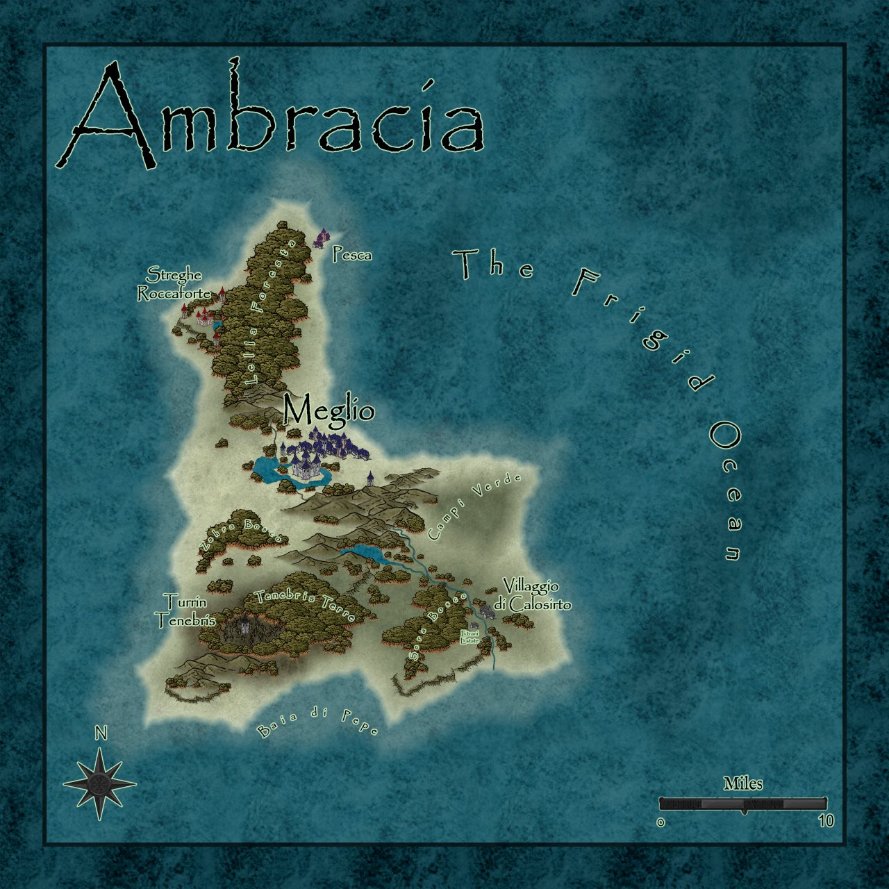 Nibirum Map: ambracia by Lorelei