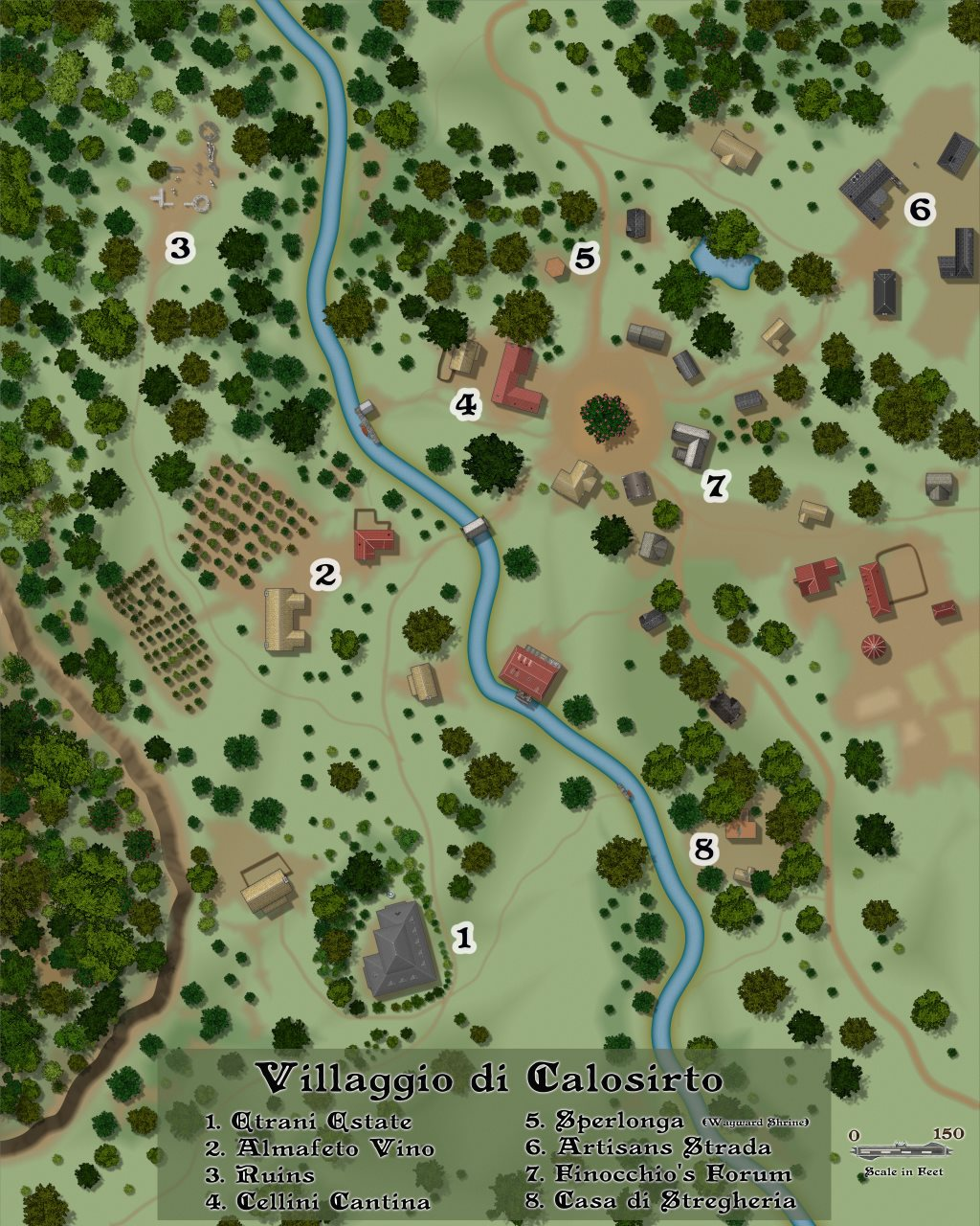 Nibirum Map: calosirto by Lorelei