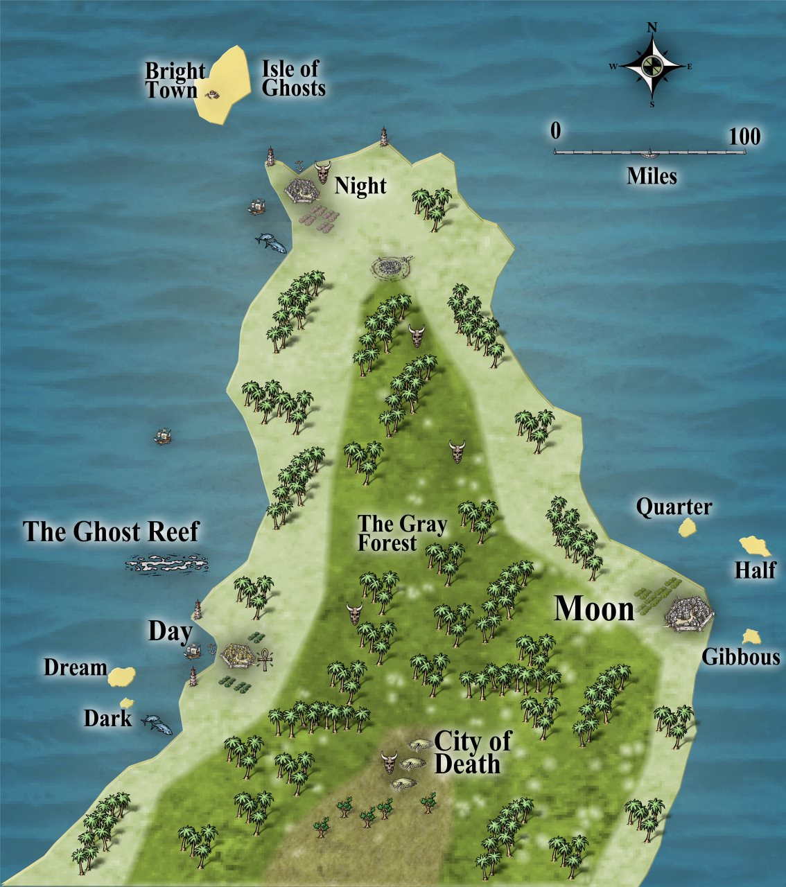 Nibirum Map: doriant peninsula by JimP