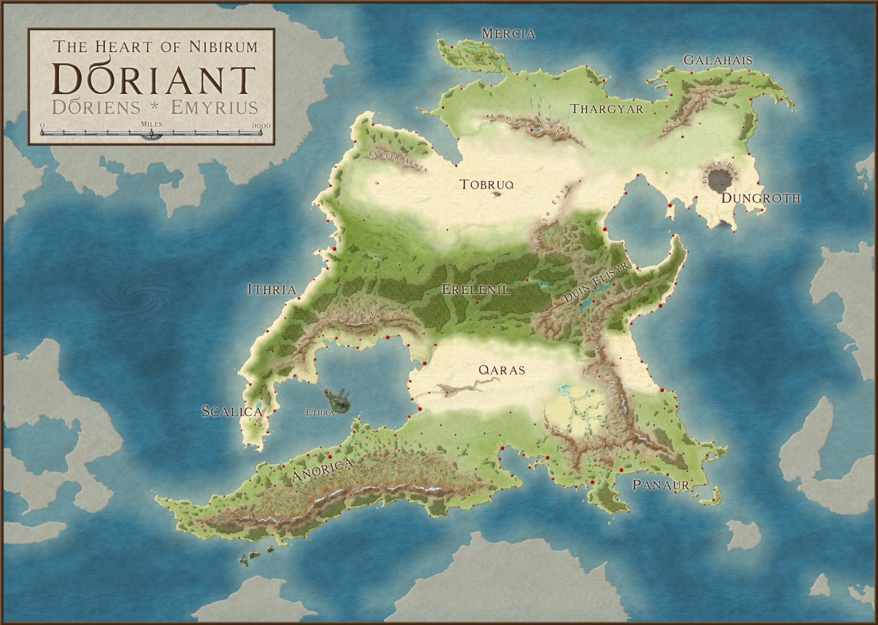 Nibirum Map: doriant by HadrianVI