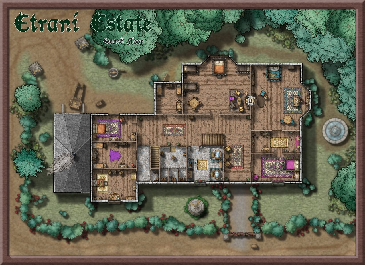 Nibirum Map: etrani estate 2nd floor by Lorelei