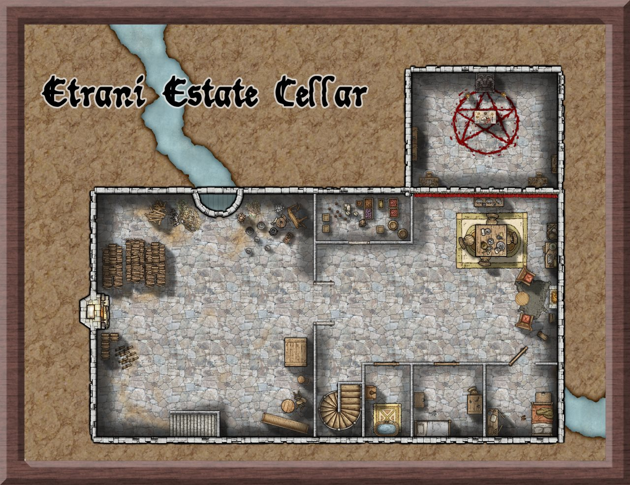Nibirum Map: etrani estate cellar by Lorelei
