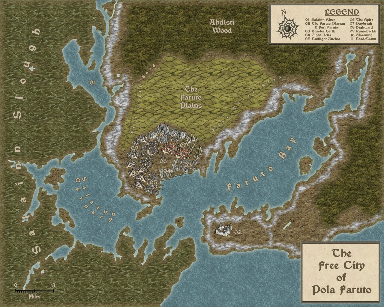 Nibirum Map: pola faruto by Mike Patterson (Maidhc O Casain)