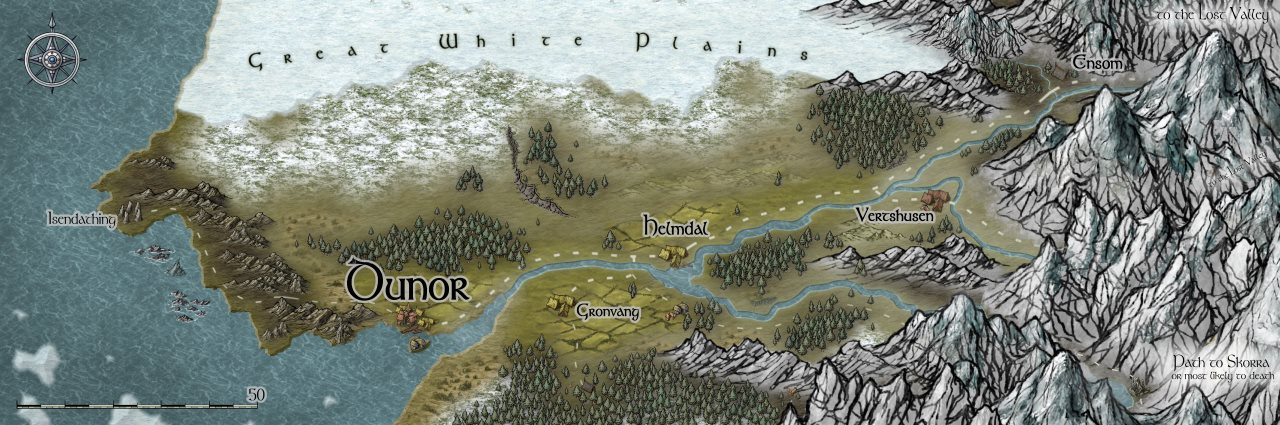 Nibirum Map: dunor valley by HadrianVI