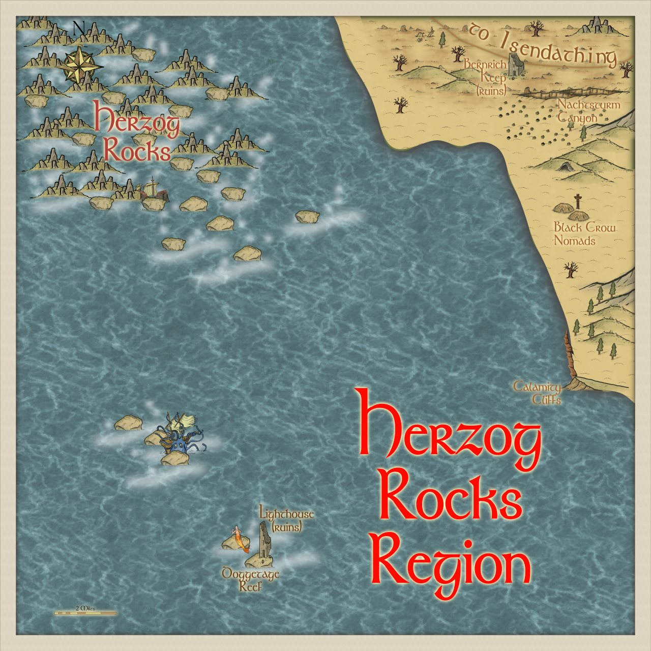 Nibirum Map: herzog rocks region by Quenten Walker