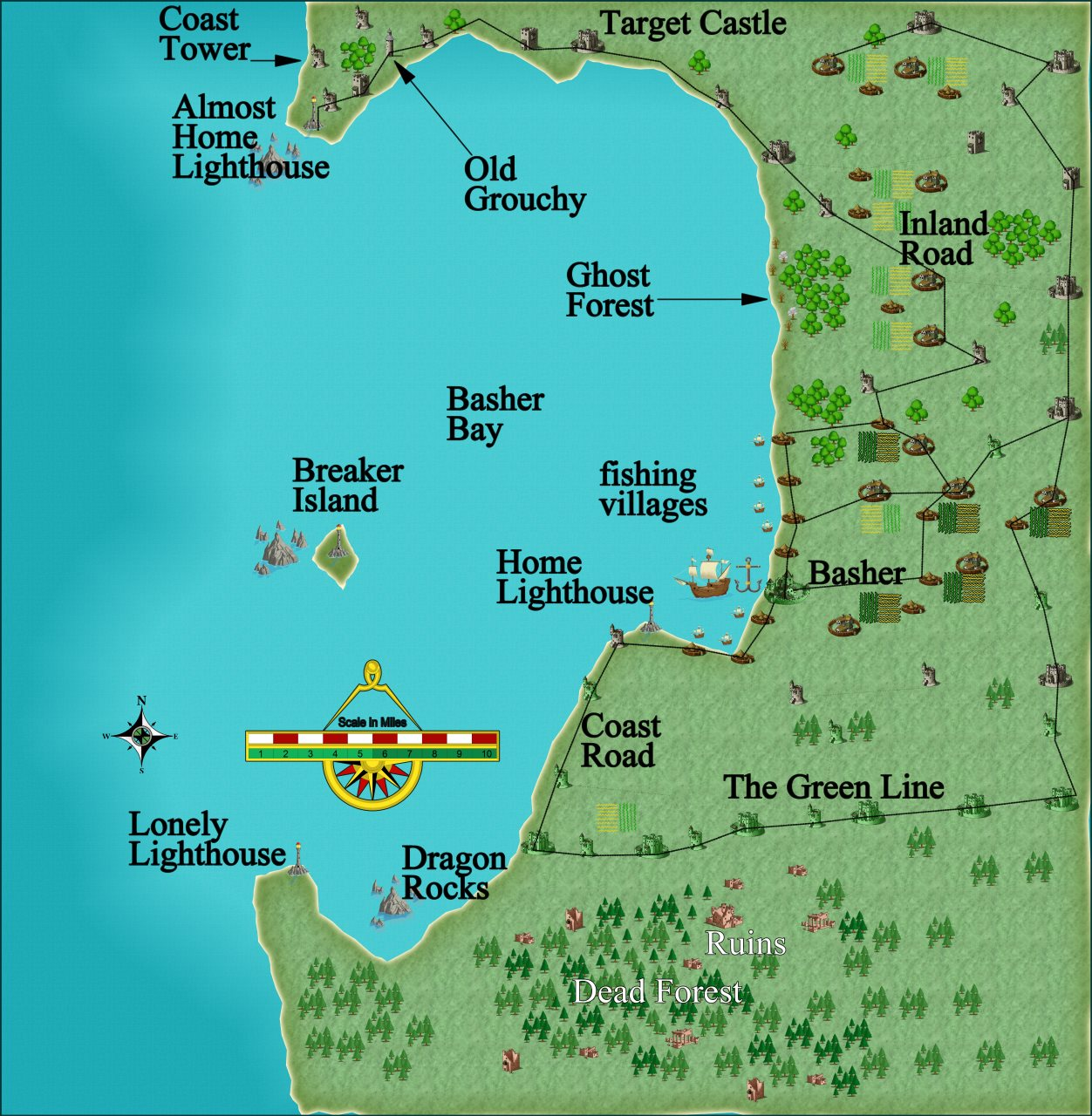 Nibirum Map: basher bay by JimP