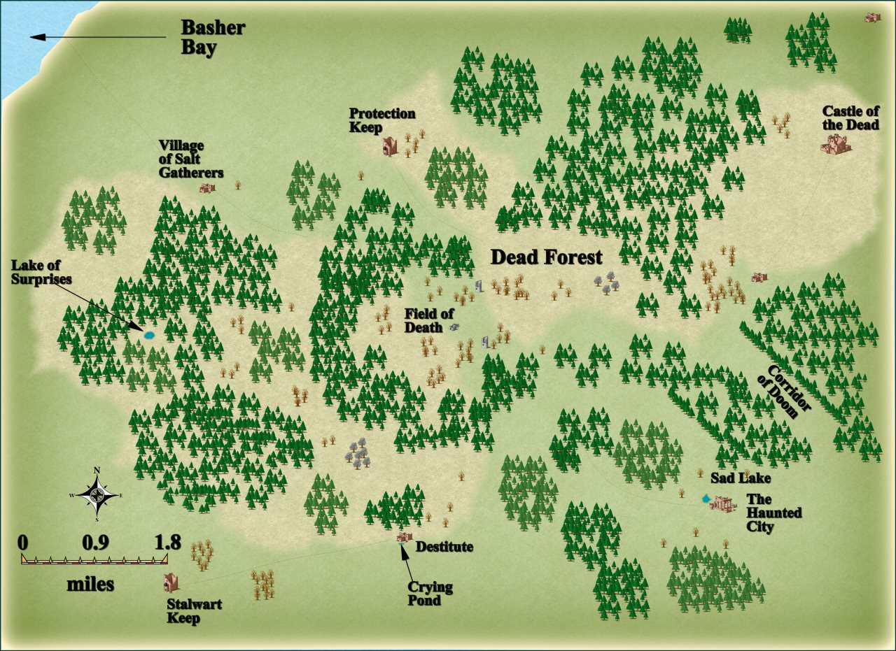 Nibirum Map: dead forest by JimP