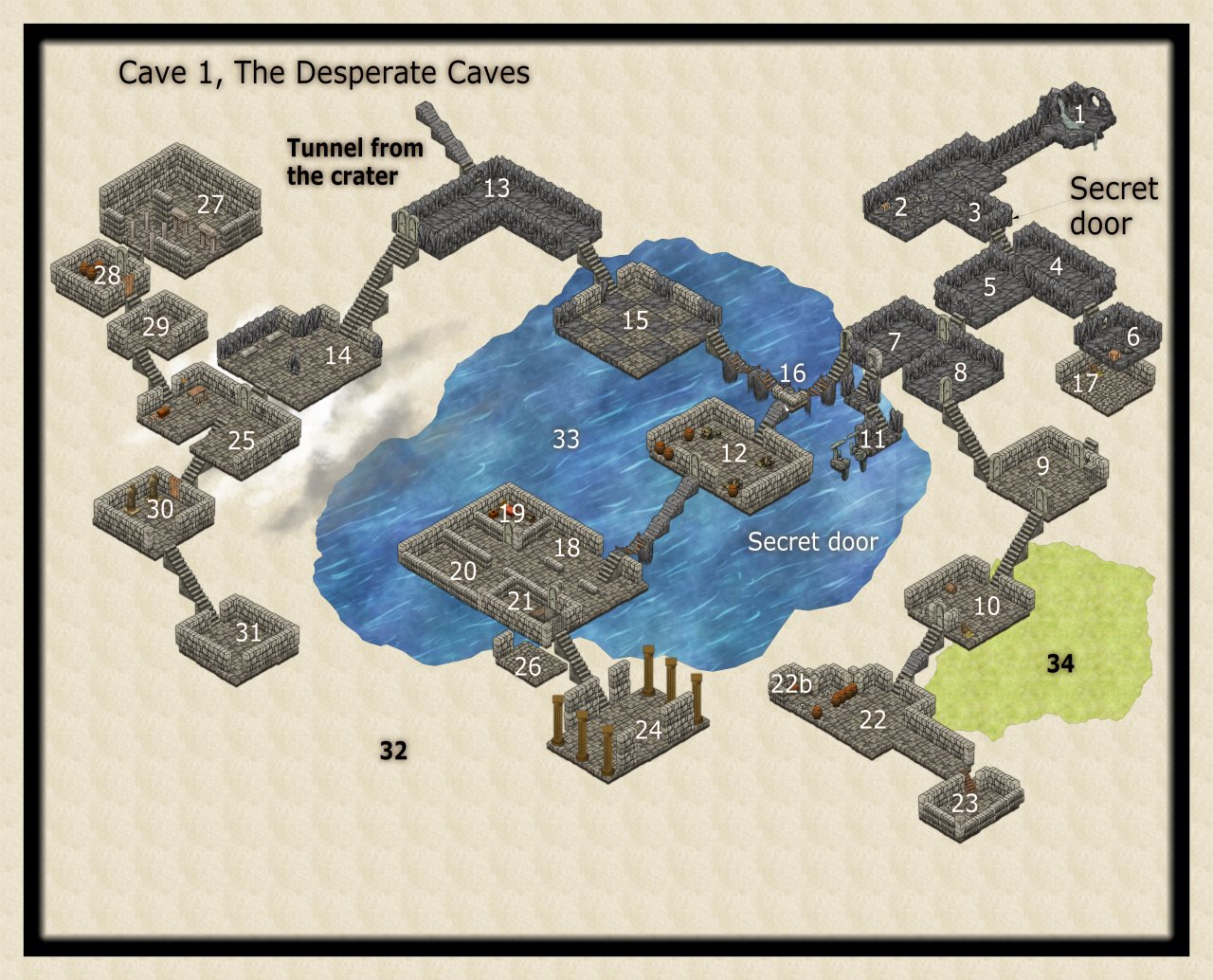 Nibirum Map: desperate caves 1 by JimP