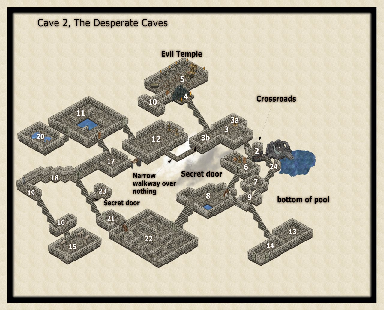 Nibirum Map: desperate caves 2 by JimP