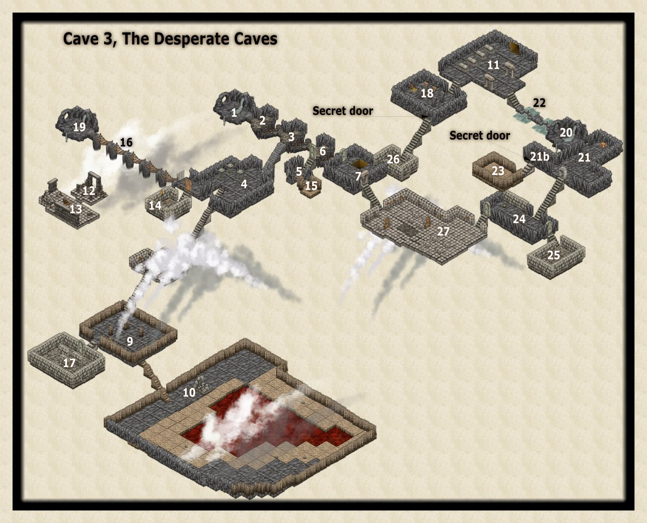Nibirum Map: desperate caves 3 by JimP