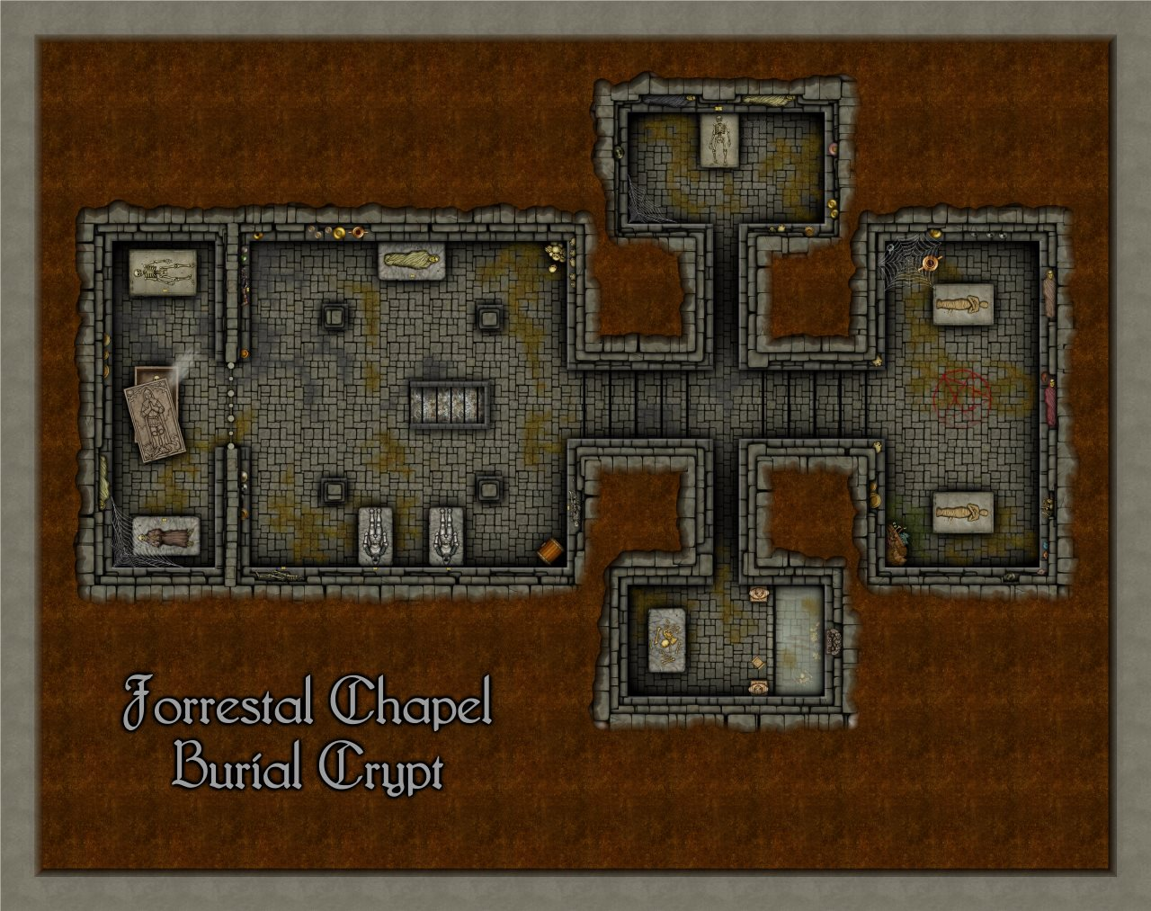 Nibirum Map: forrestal chapel - crypt by Shessar