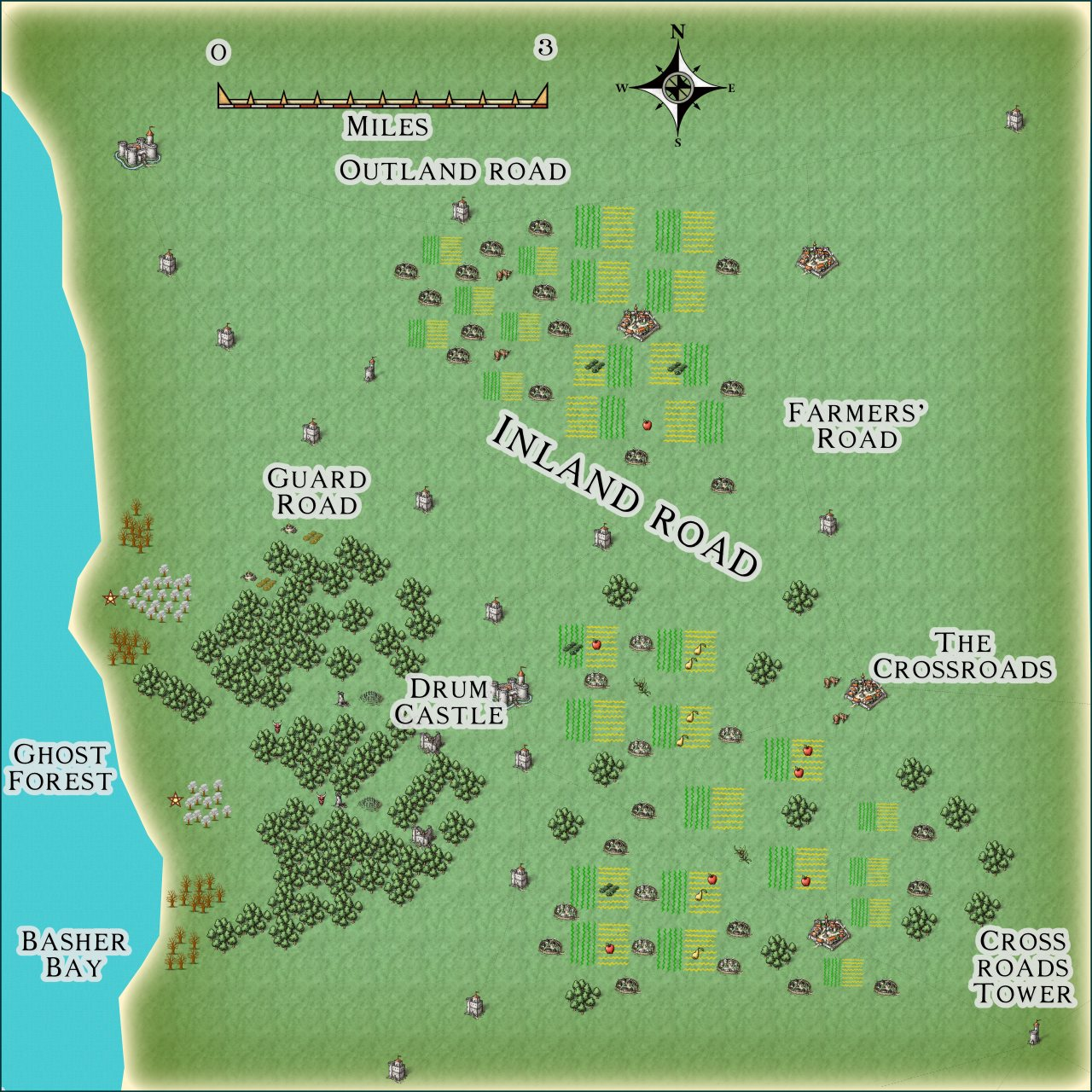 Nibirum Map: ghost forest environs by JimP