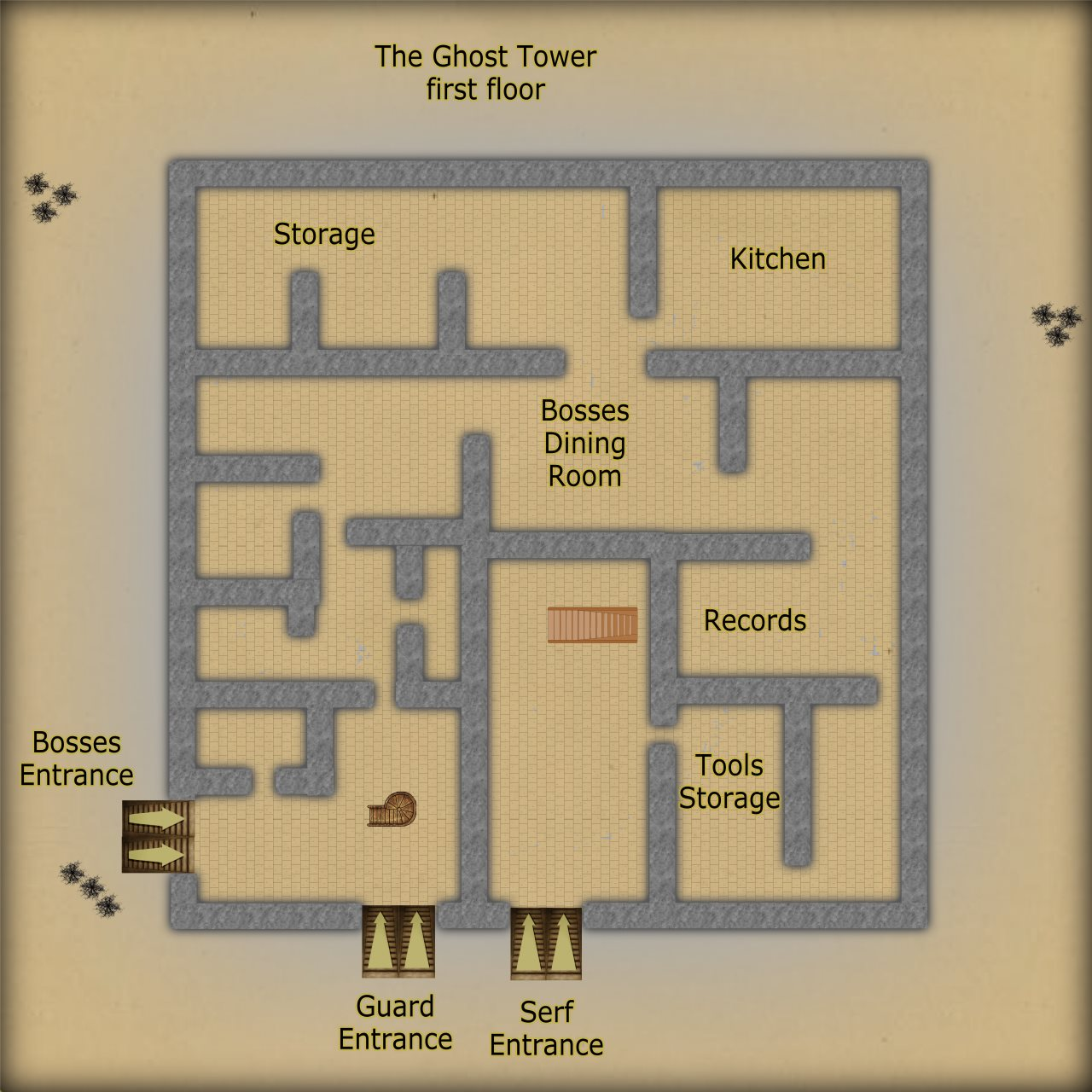 Nibirum Map: ghost tower by JimP