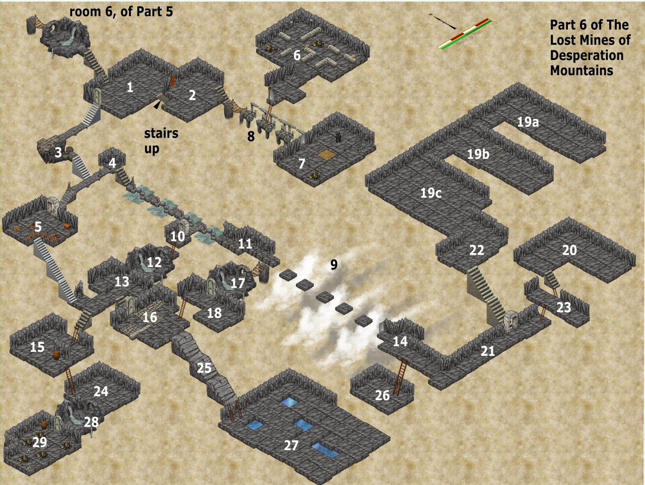 Nibirum Map: lost mines 06 by JimP