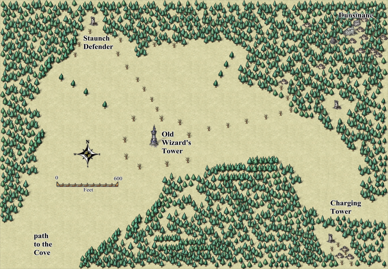 Nibirum Map: old wizard tower environs by JimP