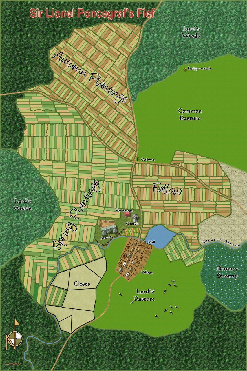 Nibirum Map: sir lionel poncegrafs fief by Quenten Walker