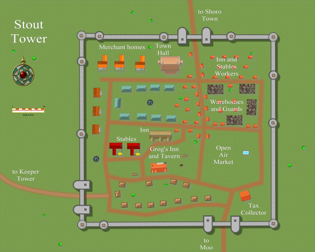 Nibirum Map: stout tower by JimP