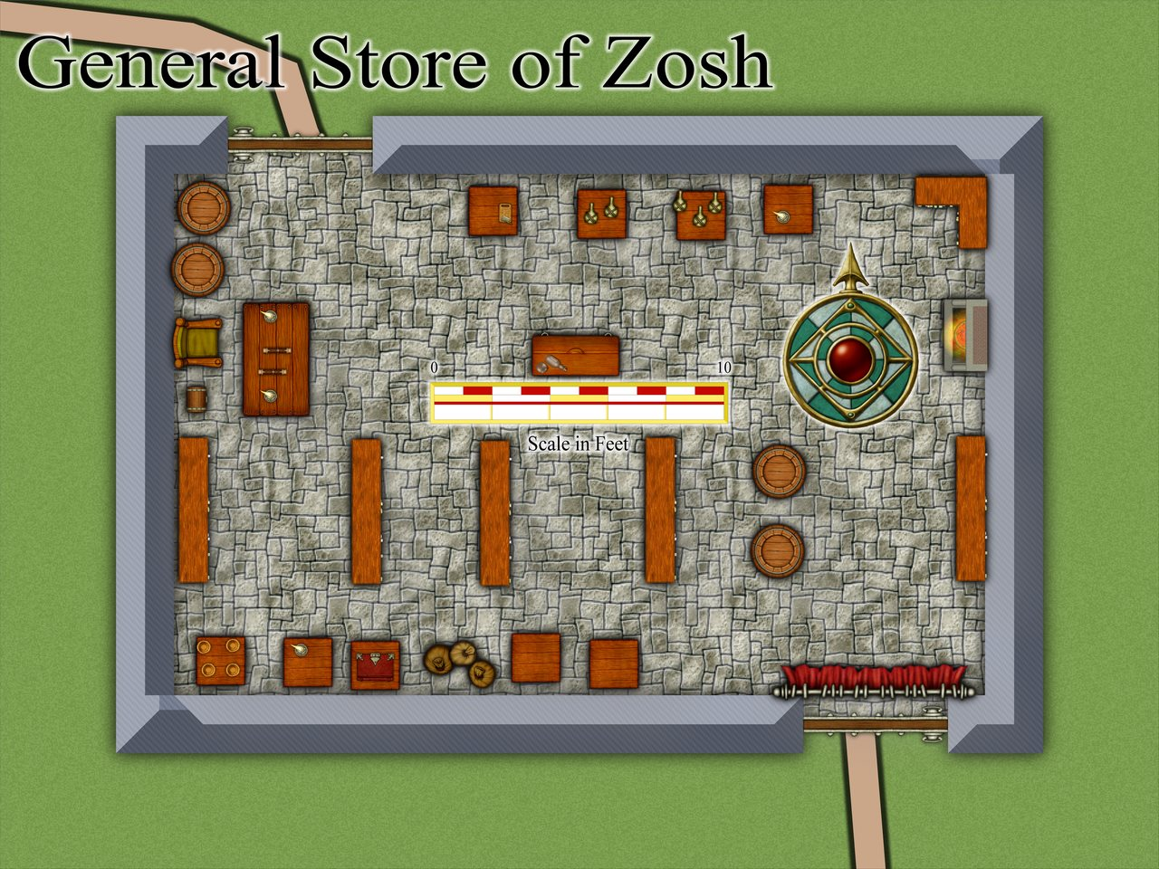 Nibirum Map: zosh store by JimP