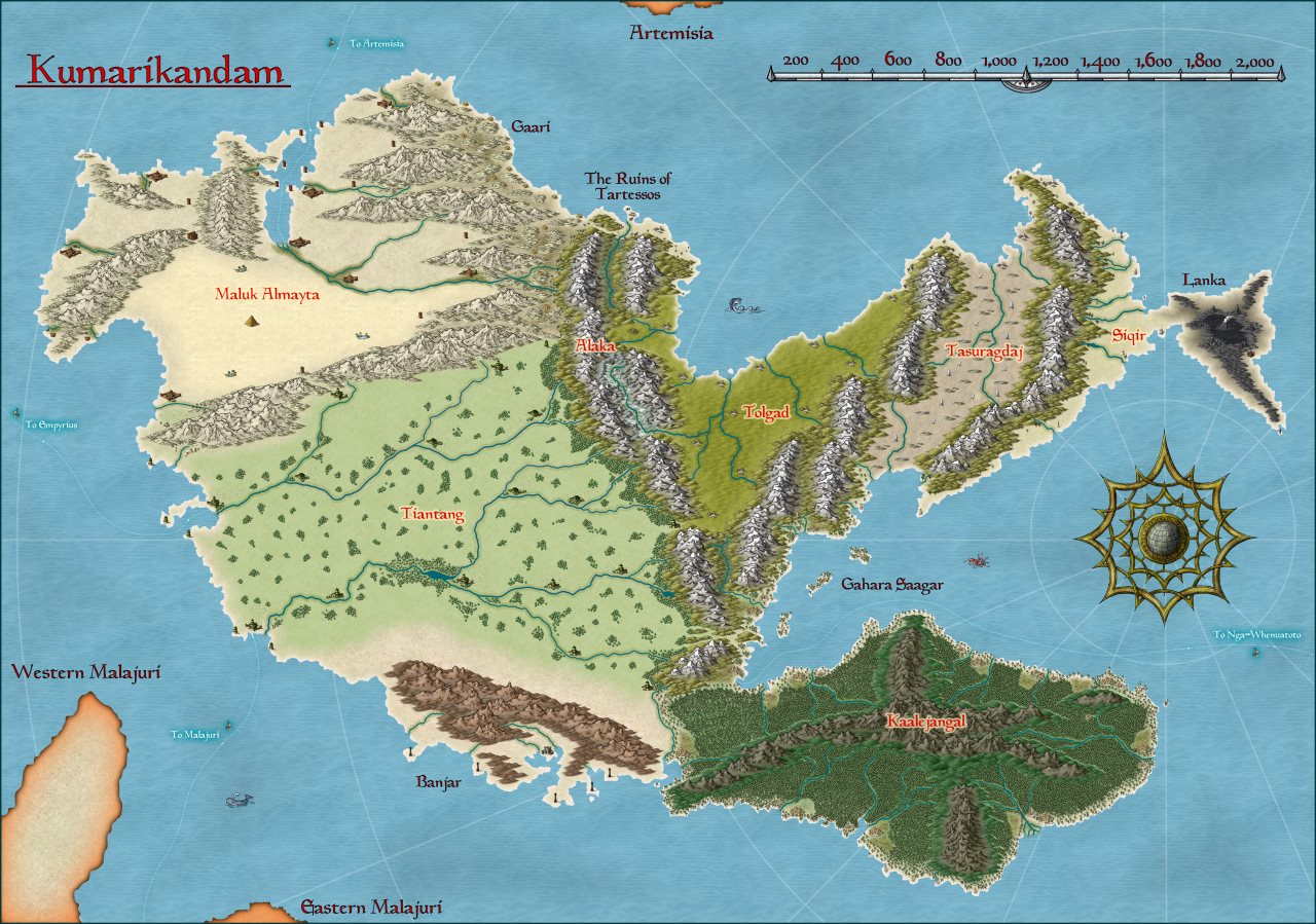 Nibirum Map: kumarikandam by CharlesWayneRobinson