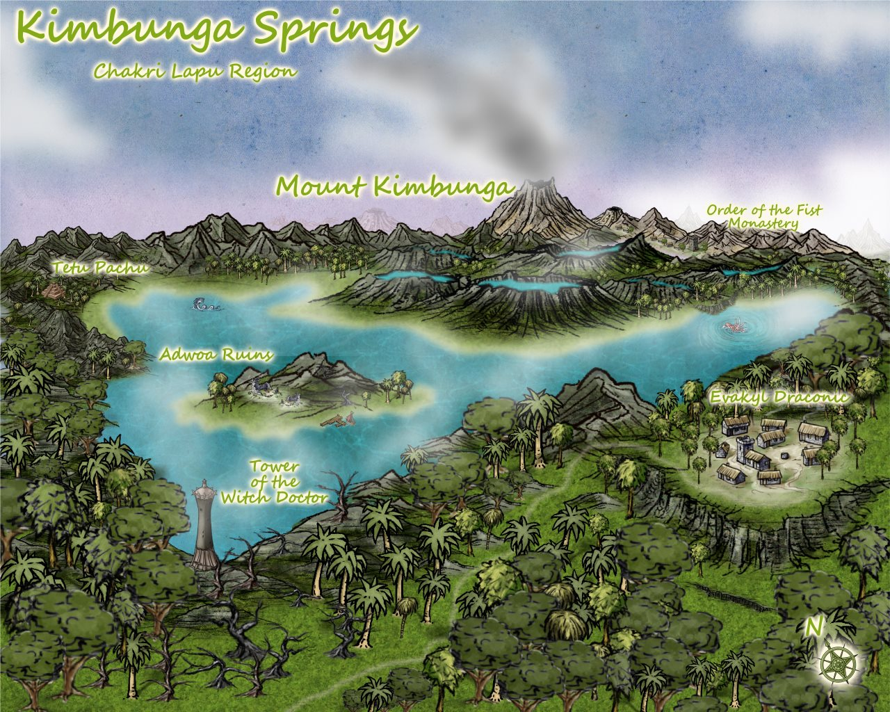 Nibirum Map: kimbunga springs by Lorelei