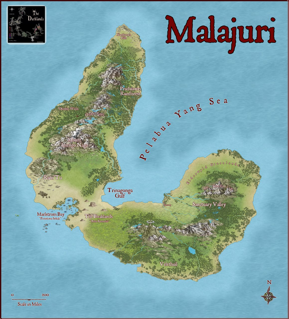 Nibirum Map: malajuri by Lorelei