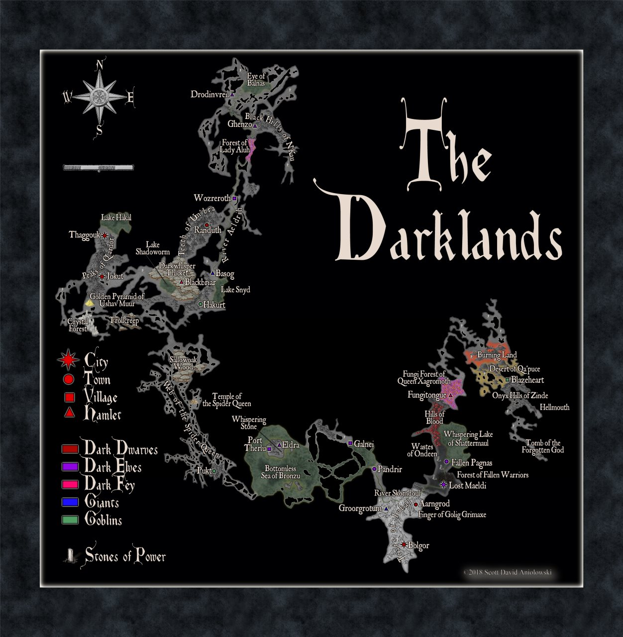 Nibirum Map: the darklands by ScottA
