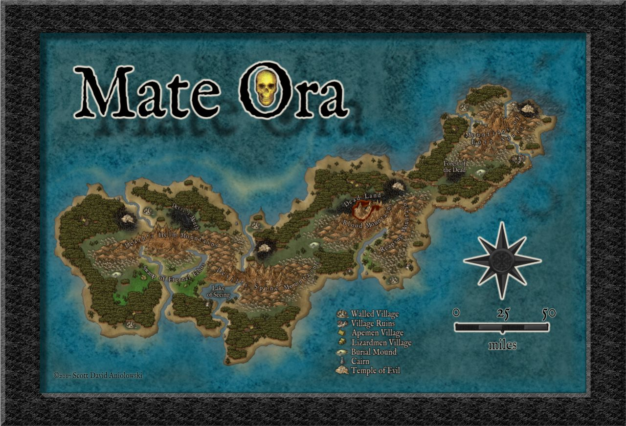 Nibirum Map: mate ora by ScottA