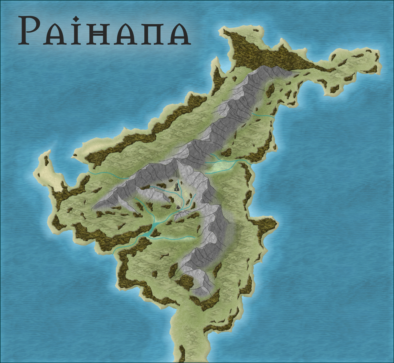 Nibirum Map: paihana by HadrianVI