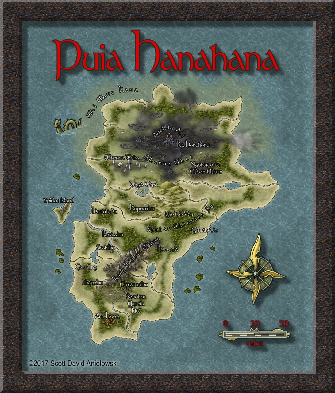 Nibirum Map: puia hanahana by ScottA