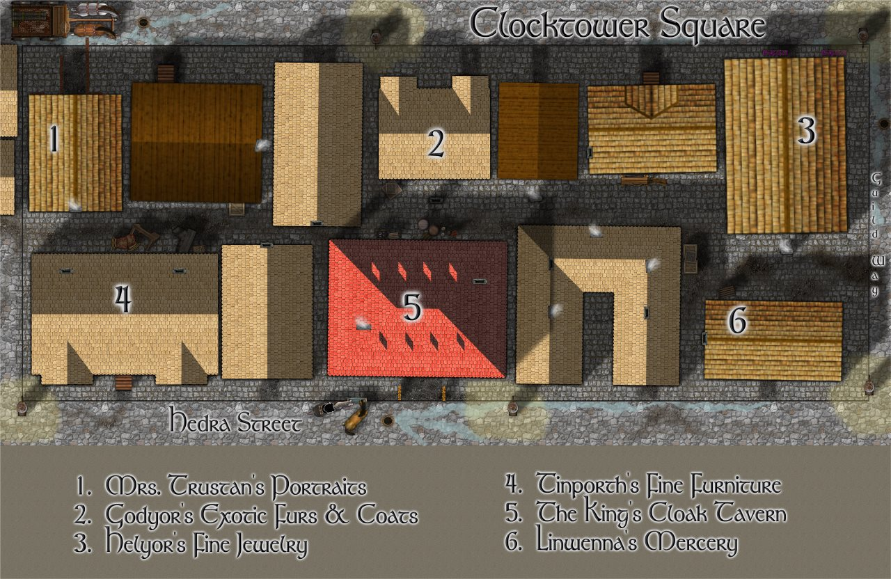 Nibirum Map: Torstan Clocktower Square by Lorelei