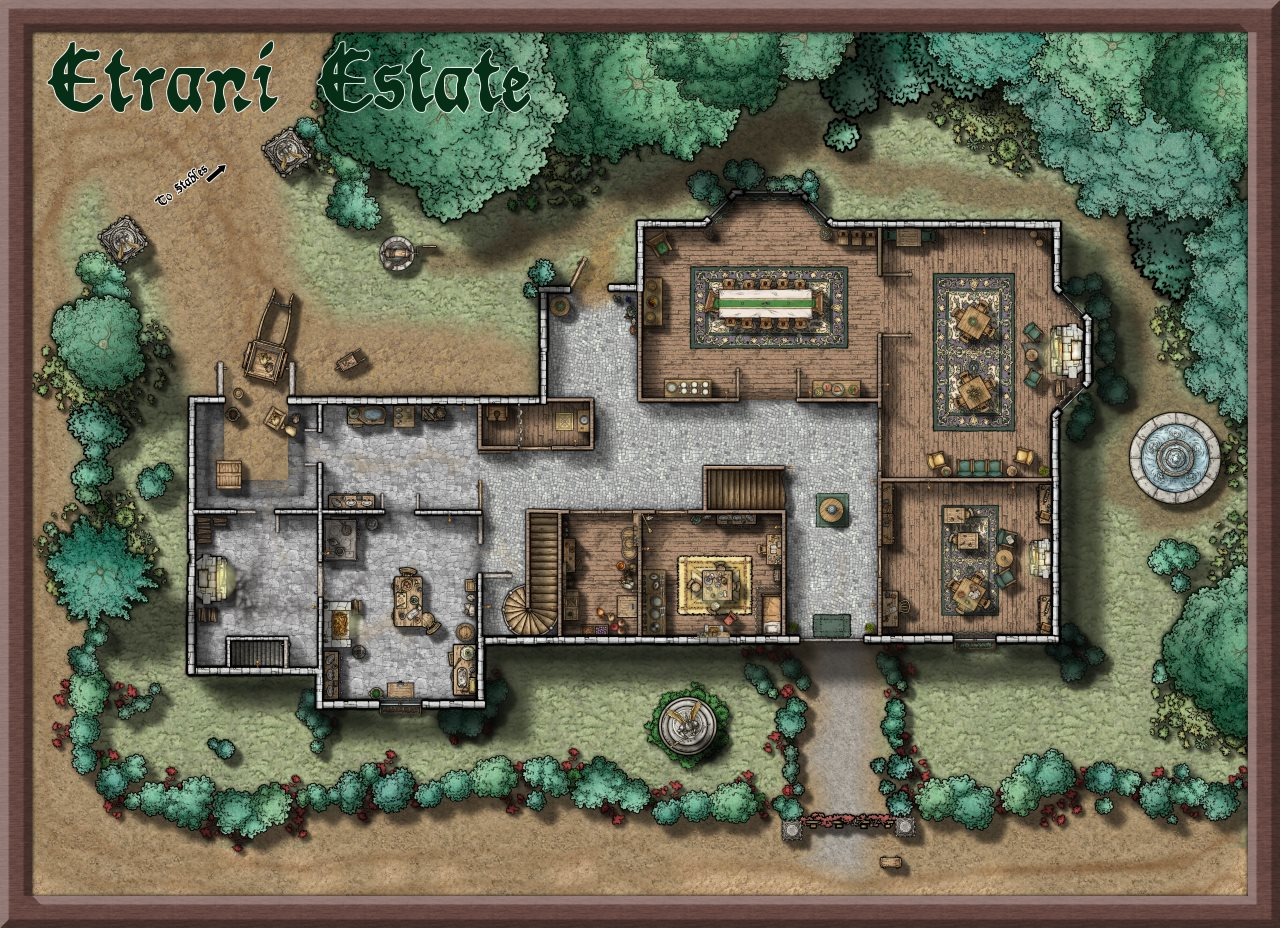 Nibirum Map: etrani estate by Lorelei