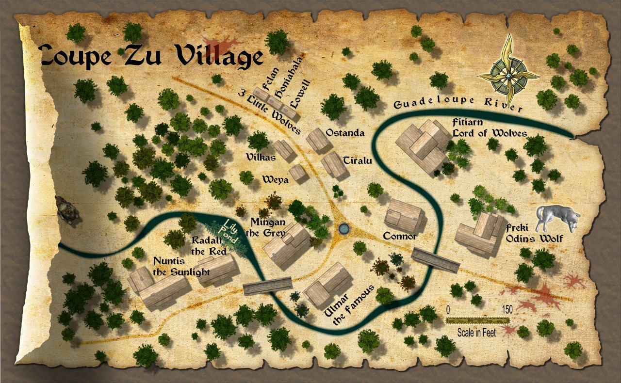 Nibirum Map: loupe zu village by Sue & Quenten